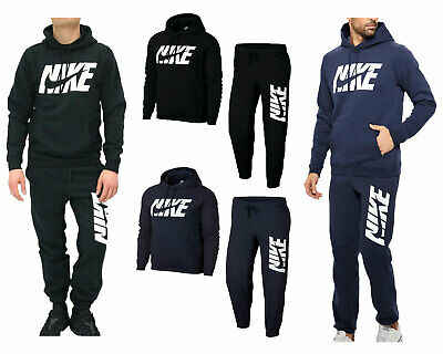 Nike Mens Full Tracksuit Air NSW Graphic Cuffed Fleece Jogging Bottms Joggers