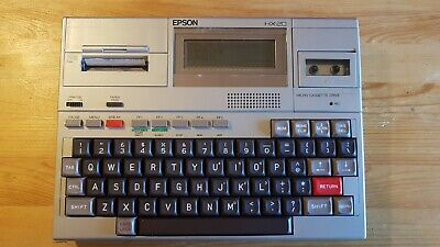 Epson HX-20 Vintage Laptop Computer. Fully tested and working