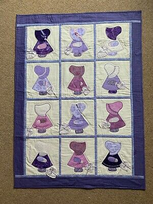 Sue Bonnet Sue Quilt (local charity fundraising)