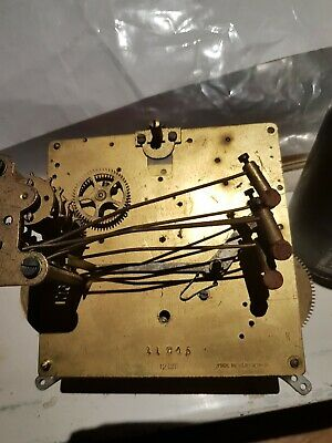 Great for Spares   Striking Clock Movement Made in Wurttember