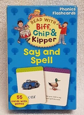 Oxford Reading Tree Read With Biff, Chip, and Kipper: Phonics Flashcards: Say &