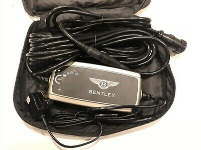 Brand New Genuine Bentley XS7000 Battery Charger With Storage Bag + Instructions