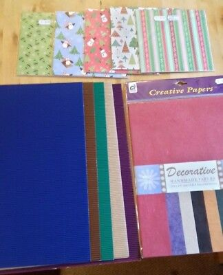 Assorted Card Crafting Card & Papers