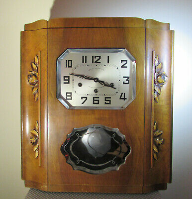 Large French westminster wall or mantel clock Le Carillon De Besancon