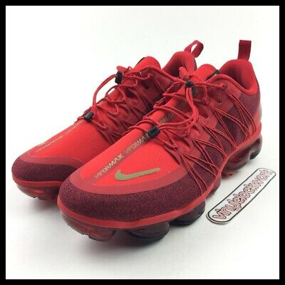 Nike Air Vapormax Run Utility CNY Chinese New Year Red Mens Size 12.5 BQ7039-600