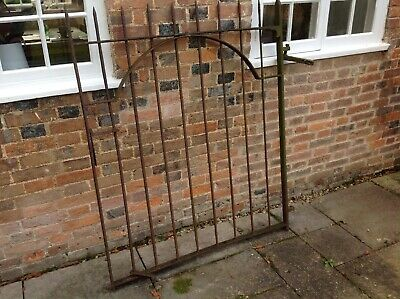 Large Antique Wrought Iron pedestrian garden gate