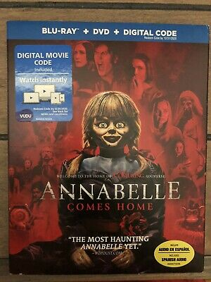 Annabelle Comes Home (DVD + Slipcover + Case) - NEW - No Blu-ray. No Digital