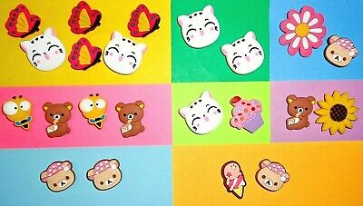 Cat Bees Bears  Shoe Charms Shoe Buttons Plugs Accessories Shoe Decorations