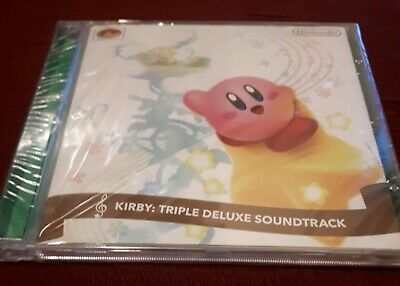 Kirby Triple Deluxe Original Soundtrack CD Nintendo OST - New / Sealed