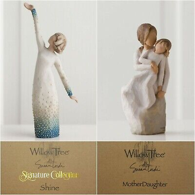 Willow Tree Mother Daughter OR Shine Figurine Signature Collection Designer Gift