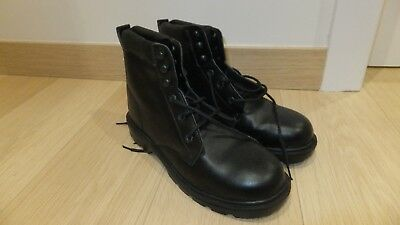 Mens Slipbuster Black A318 Safety Boots Size 11