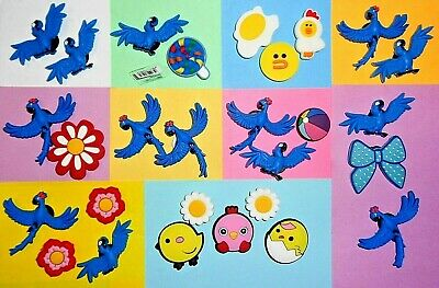 Macaws Birds Chickens  Shoe Charms Shoe Buttons Plugs Accessories Decorations
