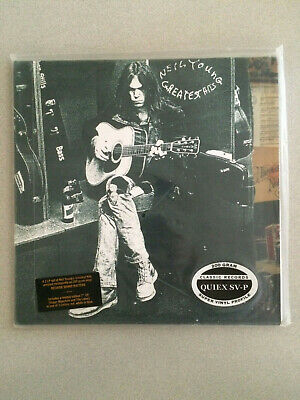 """NEIL YOUNG Greatest Hits 2 LP + 7"""" CLASSIC RECORDS 200 GRAM Vinyl SEALED NEW"""