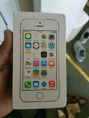 Brand New Apple iPhone 5s Silver 16GB UK Model A1457 [Faulty] Not Getting Charge
