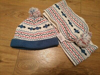 Boys Matching Scarf And Hat Set Age 2