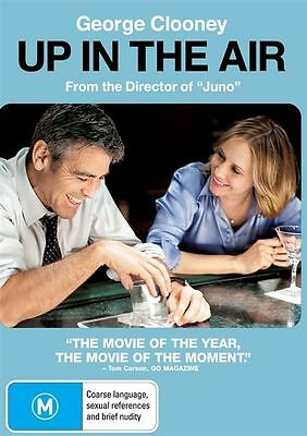 Up In The Air DVD Brand New Sealed R4 George Clooney