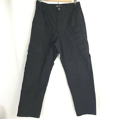 5.11 Tactical Pro Tactical Black 32x30 Ripstop Utility Cargo Style 74273 Pants