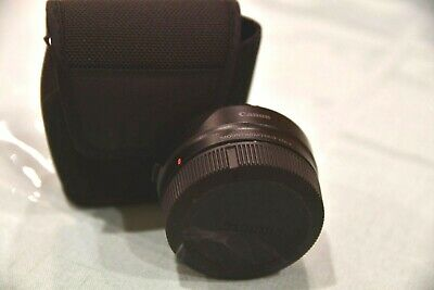 Canon EF-EOS R Lens Mount Adapter - Mint with box and pouch.