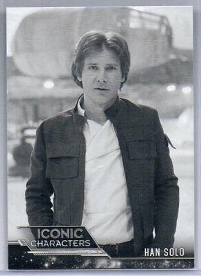 2019 Star Wars ESB Black & White HAN SOLO ICONIC Characters IC-3