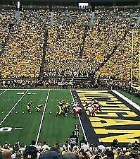 2 Tickets to Michigan Wolverines Football vs Notre Dame on 10/26 - Aisle seats