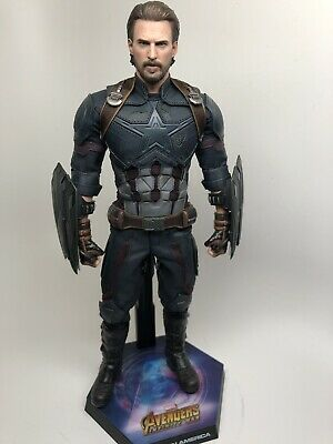 Hot Toys Avengers Infinity War Captain America Movie Promo Edition MMS481