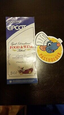 Disney World Annual Passholder Chef Remy MAGNET Food Wine Festival