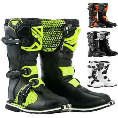 Fly Racing Maverik MX Youth Off Road Dirt Bike Motocross Boots