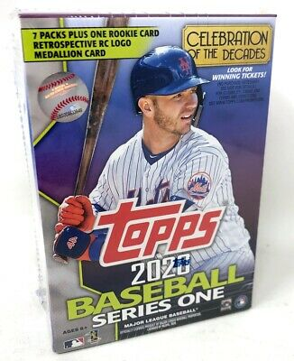 2020 Topps Series 1 Baseball Trading Cards Retail Blaster Box