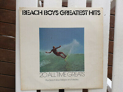 Surfing Surf Vinyl Lp Beach Boys Greatest Hits 20 All Time Greats