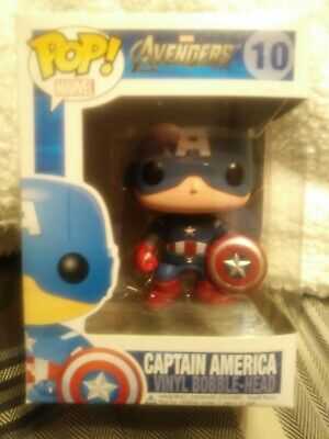 Avengers Movie Captain America Funko Pop 10