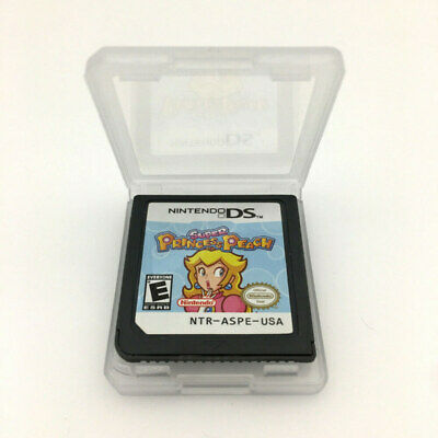 Super Princess Peach Game Card For Nintendo 3DS NDSI NDSL NDS Cartridge US SHIP