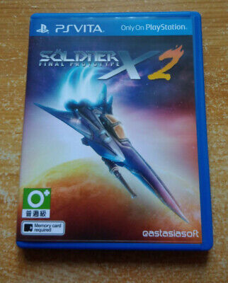 Soldier X2 Final Prototype - Playstation Vita Import Asia