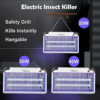 20W/30W/40W Electric Fly Insect Bug Pest Mosquito Killer Zapper Catcher LED Lamp