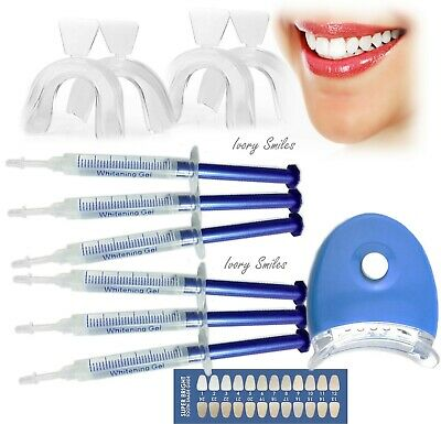 Teeth Whitening Kits Strong Whitening Gel Professional Set Led Accelerator Light