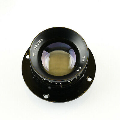 Air Ministry barrel lens - 5 inch f4 probably Ross Xpres