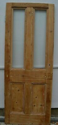 (potentially leaded light stained glass) internal victorian style door R977.