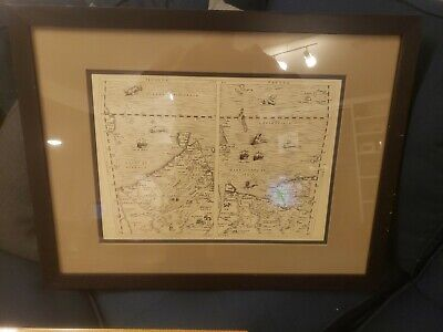 Museum Quality Phillips Images 1773 Map Of Bombay Framed Reproduction Nice Piece