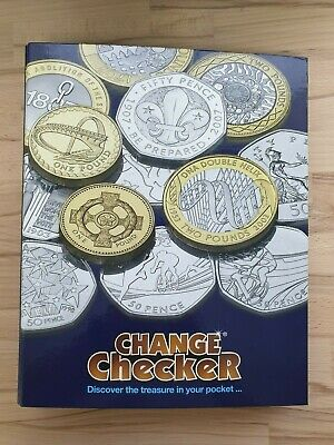 2012 London Olympics 50p BU Coin Set - All 29 Coins in New Change Checker Album