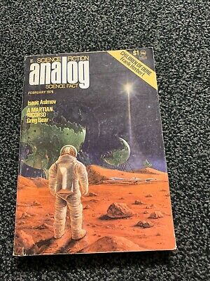 Analog Science Fiction / Science Fact Magazine February 1976 Herbert / Asimov