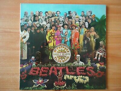 """THE BEATLES """"Sgt Peppers"""" LP 1967 PARLOPHONE MONO 1st press  WITH INSERT !"""