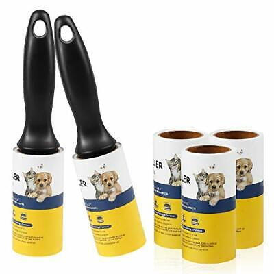 Lint Roller Pet Hair Remover Extra Sticky Lint Tape Rollers Clothes Dog Cat Hair