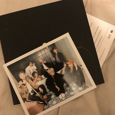 Official BTS Wings Group Photocard from WINGS album