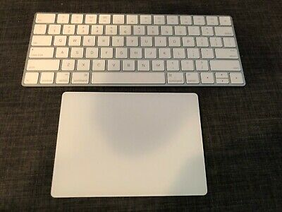 Apple Magic Keyboard Bluetooth and Magic Trackpad 2 + Lightning cable SHIPS FAST