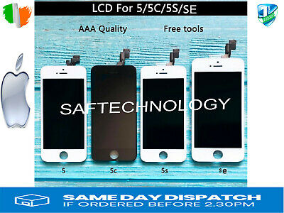 Original iPhone 5 5c 5S SE Black White LCD Display Touch Screen DigitizerAsmbly