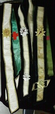 Vintage Knights Templar Freemasons Masonic Lot