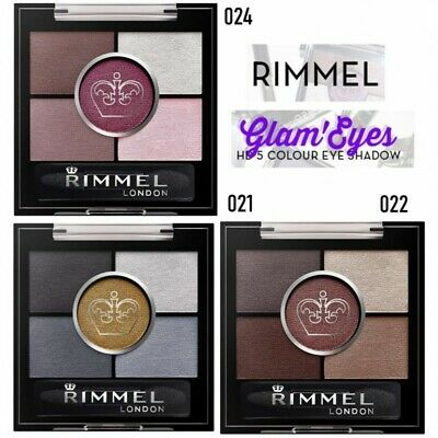 RIMMEL Sombra de Ojos Glam Eyes HD 5 Colour Eyeshadow