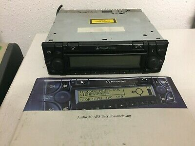 Mercedes Audio 30 APS BE4716 Navigation CD Radio + Bedienungsanleitung + CODE