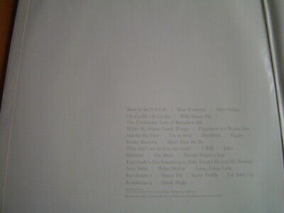 "The Beatles ""The Beatles"" (White Album) Original Uk Stereo Lp Complete"