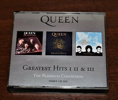 Queen Greatest Hits 1  2  3 Platinum Collection Three Cd Set