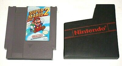 Super Mario Bros. 2 Game Cartridge for Nintendo NES with Nintendo Sleeve (1985)
